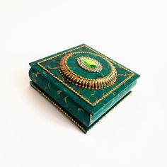 Malachite Jewelry, Gift Wedding, Decorative Boxes, Unique Jewelry, Handmade Gifts, Etsy, Vintage, Home Decor, Kid Craft Gifts