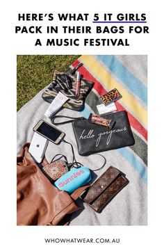 What to take to a festival according to fashion it girls