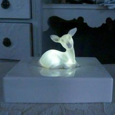 RSVD for kwwasserman Deer nightlight by laurawallstaylor on Etsy Animal Lamp, Gadgets, Light Crafts, Nightlights, Oh Deer, First Photograph, Forest Friends, Tree Lighting, Pretty Lights