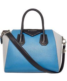 Givenchy Small Blue Tricolour Antigona Bag Only £1,505!