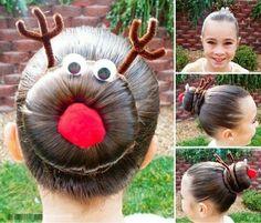 Reindeer Hair for kids :)
