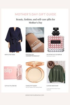 Mother's day gift ideas | gift guides | Creative mother's day gifts | gift guide for mom | gift ideas for her Mother Day Gifts, Gifts For Mom, Handwritten Bracelet, Creative Mother's Day Gifts, Gift Guide For Him, Birth Flowers, Setting Powder, Finding Yourself, Gift Ideas