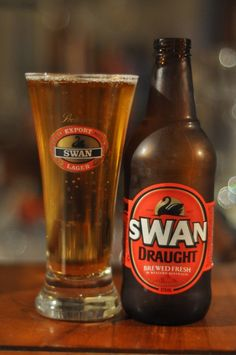 Australia - Swan Draught Buy Beer Online, Draught Beer, Australian Beer, Beer Cellar, Beer Club, Beers Of The World, Beer Label, Perth, Liqueurs