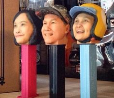 PEZ Collectors Have Custom 3D Printed PEZ Dispensers Created in Their Likeness http://3dprint.com/51625/3d-printed-pez-dispenser/