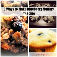 Yum! I love Blueberry Muffins! Read more: at Posh on a Budget!