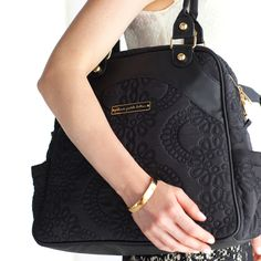Petunia Pickle Bottom Sashay Satchel Embossed Central Park North Stop Special Edition @Layla Grayce