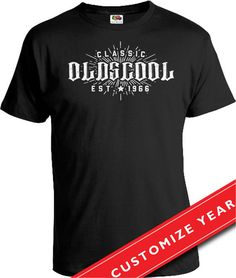 50th Birthday Gift Ideas For Men Man Oldscool Shirt Born In 1968 Age 50 Gifts