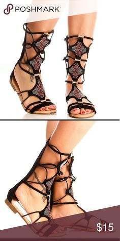 Atta by Forever link Synthetic True to size Manmade sole Synthetic Faux Leather Imported Forever link Shoes Sandals