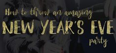 It's the biggest party night of the year - New Year's Eve! And even though we're already in December, it's not too late to plan the perfect Party! Party Hire, Big Party, New Years Eve Party, Perfect Party, Norfolk, Party Ideas, Amazing, Blog, Wedding