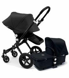 Bugaboo Cameleon 3 Stroller, Extendable Canopy 2015 All Black
