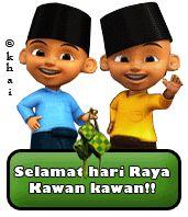 Selamat Hari Raya, Happy Eid Mubarak, Hijab Cartoon, Eid Al Fitr, Doraemon, Minions, Minecraft, Iphone Wallpaper, Memes