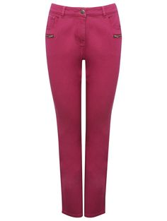 Coloured Slim Leg Jeans