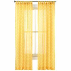 Happy Chic by Jonathan Adler Lola Sheer Curtain Panel   (I want these curtains, just not at this price.)