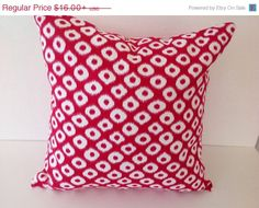 SALE Decorative throw pillow coverscotton by TwistedBobbinDesigns