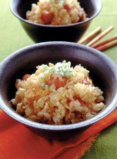 ソーセージの中華風炊き込みごはん | 夏梅美智子さんのレシピ ...
