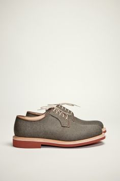 fullbeck derby shoe olive canvas ++ church's