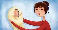 Estes são os motivos pelos quais o seu bebê acorda durante a noite