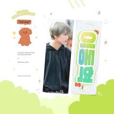 Exo Birthdays, Slogan Design, Pop Design, Kpop Merch, Special Gifts, Nct, Cool Designs, Banner, Design Inspiration