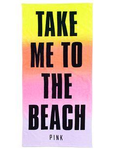Beach Towel PINK  for Hawaii!