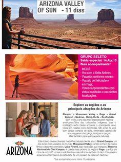 Viaje bem!: Arizona