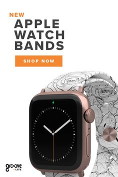 Replace your original Apple Watch Band with the comfort function and exclusive designs of a Groove Watch Band. Apple Watch Fitness, New Apple Watch Bands, Apple Watch Bands Fashion, G Shock Watches Mens, Rolex Watches For Men, Wrist Watches, Ipad Air 2, Tissot Mens Watch, Iphone