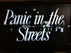 Panic in the Streets 1950 Kazan