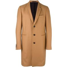 Ps By Paul Smith classic overcoat (6,240 CNY) ❤ liked on Polyvore featuring men's fashion, men's clothing, men's outerwear, men's coats, beige and mens beige trench coat