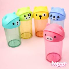 Kawaii Animal Water Bottle