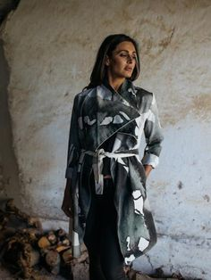 Collection is a proudly South African fashion label established in 2014 in Stellenbosch by local designers and stylists Lisa Carinus and Gitte Muller. Waterfall Coat, South African Fashion, Fashion Labels, Leather Backpack, Stylists, Bags, Collection, Design, Handbags