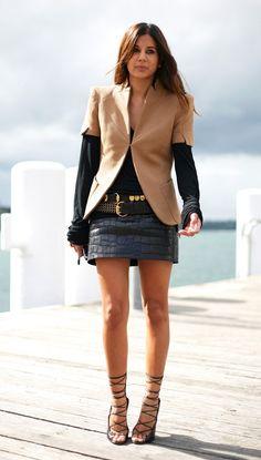 Christine Centenera, Australian Harper's Bazaar fashion editor, is also a celebrity stylist, street style icon and a great fashion mind beh. New Fashion Trends, Fashion Editor, Street Chic, Street Style, Christine Centenera, Look Fashion, Her Style, Style Icons, Ideias Fashion