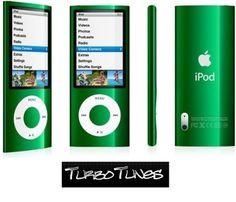 Apple iPod Nano 5th Gen GOOD CONDITION Green 8GB  Video Camera FM Tuner Grade B