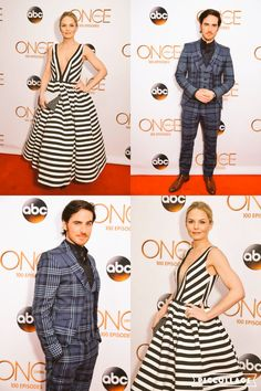 Jennifer and Colin at the Once Upon A Time 100th episode celebration