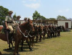 5th Australian Light Horse - Maleny Troop Beersheba Day Ceremony 2012.