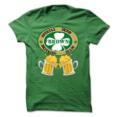 BROWN Drinking Team