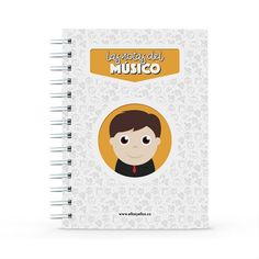 Cuaderno - Las notas del músico, encuentra este producto en nuestra tienda online y personalízalo con un nombre. Notebook, Data Sheets, Lawyers, Creative Photography, Notebooks, Report Cards, The Notebook, Exercise Book