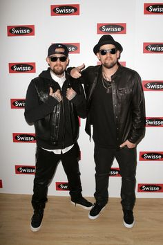 LIVE: Celebrities in Their Black-and-White Best For 2014 Derby Day!  Joel and Benji Madden