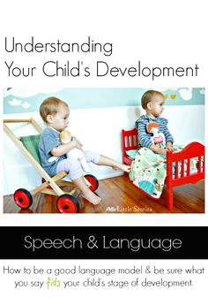 {Little Stories Classic} Do you understand language development? How to figure out your child's language level and encourage it to grow. #fillthepage