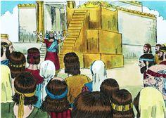 Solomon Builds the Temple lesson, ideas and printables #Biblefun #OTBiblelesson
