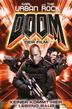 Doom poster, t-shirt, mouse pad Streaming Hd, Streaming Movies, Dwayne Johnson, Top Movies, Movies And Tv Shows, Marvel Movies, Horror Movies, Movie Props, Movie Tv