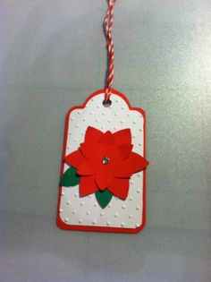 Christmas tag using CTMH Art Philosophy. Contact me to purchase! Ecmwelch@yahoo.com