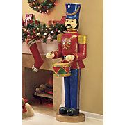 Life size Nutcracker With Light Sound And Motion I want 2