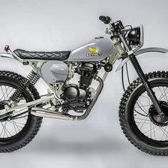 #Honda #scrambler #tracker #revolt