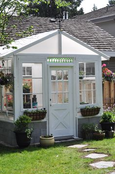 The Greenhouse Project- How To Build A Greenhouse From Vintage Windows-1