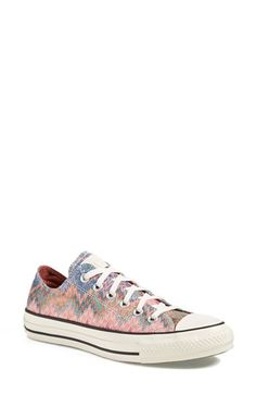 Free shipping and returns on Converse 'Missoni Lurex' Sneaker (Women) at Nordstrom.com. A classic All-American low-top gets a high-fashion update in this refreshing collaboration with Italian fashion house Missoni. The first basketball-specific shoe was the Converse All-Star, released in 1917, and Converse has been producing sporty, iconic American sneakers ever since. Wear this one with just about anything.
