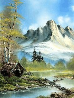 nice lake mobile phone wallpapers - Best of Wallpapers for Andriod and ios Landscape Sketch, Watercolor Landscape, Landscape Art, Landscape Paintings, Bob Ross Paintings, Scenery Paintings, Beautiful Paintings, Beautiful Landscapes, Bob Ross Art