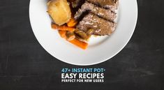 Try these Easy Instant Pot Recipes, Easy Pressure Cooker Recipes