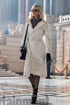 Atomic Blonde trench coat