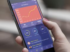 Fitness App by Kristina Vlastjuk by ui. Graph Design, App Ui Design, Dashboard Design, Mobile App Design, User Interface Design, Design Web, Flat Design, Site Portfolio, App Design