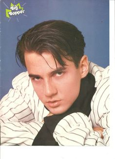 Tommy Page, Double Sided, Full Page Pinup, Paula Abdul