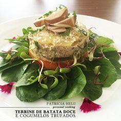 Patricia Helu: Terrine de batata doce e cogumelos trufados | CAROL BUFFARA